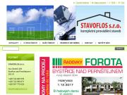 WEBOVÁ STRÁNKA STAVOFLOS s.r.o.