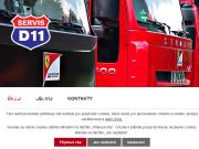 WEBOVÁ STRÁNKA SERVIS D11 s.r.o.