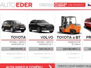 WEBOVÁ STRÁNKA Auto Eder, s.r.o. Prodej a servis vozů Toyota a Volvo