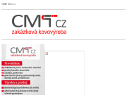 WEBOVÁ STRÁNKA CMT CZ s.r.o. zakázková kovovýroba