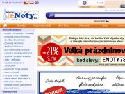 WEBOVÁ STRÁNKA eNoty.eu