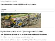 WEBOVÁ STRÁNKA RH-PROZEM s.r.o.