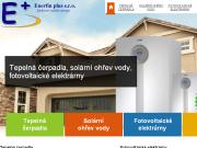 WEBSITE Enerfin plus s.r.o. Tepelna cerpadla Plzen