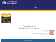 SITO WEB Vaclav Majewski Dvouhmotovy setrvacnik