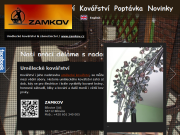 WEBOVÁ STRÁNKA ZAMKOV UH s.r.o.