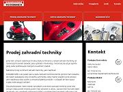 Strona (witryna) internetowa Robert Bilka - Zahradni technika