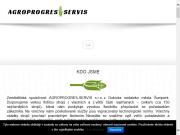WEBOVÁ STRÁNKA Agroprogres - Servis, s.r.o.