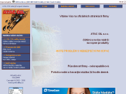 WEBOVÁ STRÁNKA ATAC OIL s.r.o.