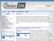 WEBOVÁ STRÁNKA Binter DS s.r.o.