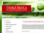 WEBOVÁ STRÁNKA Česká škola klasické homeopatie spol. s r.o.