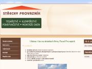 WEBOVÁ STRÁNKA Pavel Provazník - střechy