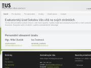 WEBOVÁ STRÁNKA Exekutorsk� ��ad Sokolov se s�dlem v Lokti - Dvo��k Milo�, Mgr., soudn� exekutor