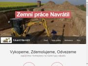 WEBOVÁ STRÁNKA Eduard Navrátil  - zemní práce, autodoprava