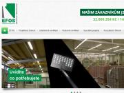 WEBOVÁ STRÁNKA EFektivní OSvětlování, s.r.o. EFOS s.r.o.