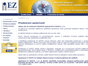 WEBOVÁ STRÁNKA EZ INVEST, s.r.o.