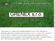SITO WEB GRENEX s.r.o.