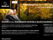 WEBOVÁ STRÁNKA Gvoždík s.r.o.