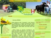 WEBOVÁ STRÁNKA Farma Miller Holubice Ing. Jan Miller