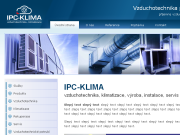 WEBSITE IPC Klima s.r.o.