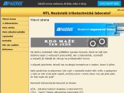 WEBOVÁ STRÁNKA NTL Nezávislá tribotechnická laboratoř