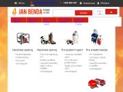 SITO WEB Jan Benda Pozarni sluzby