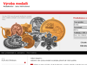 SITO WEB Medailerstvi - Jana Vohryzkova