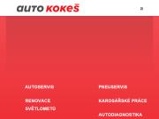 WEBOVÁ STRÁNKA Warm up motors s.r.o. Auto Kokeš