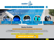 WEBSEITE Bazeny Kostelec (drive Polman) Stavba bazenu na klic