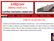 SITO WEB Strechy - Zalesky Josef, s. r. o. Pokryvacske, klempirske a tesarske prace