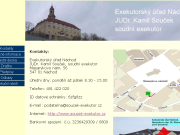 WEBOVÁ STRÁNKA Exekutorsk� ��ad N�chod - Sou�ek Kamil, JUDr., soudn� exekutor