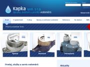 WEBOVÁ STRÁNKA KAPKA spol. s r.o.