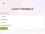 WEBOVÁ STRÁNKA Lucie Voženílková