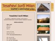 WEBOVÁ STRÁNKA Milan Jurčí - Tesařství