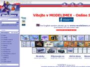 WEBOVÁ STRÁNKA MODELIMEX s.r.o. Plastikové modely eshop