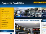 WEBOVÁ STRÁNKA Pneuservis Pavel Málek