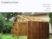 WEBOVÁ STRÁNKA Truhlářství Zoul Pavel Zoul