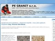 WEBOVÁ STRÁNKA Pe Granit, s.r.o.