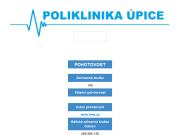 WEBOVÁ STRÁNKA Poliklinika Úpice, s.r.o.