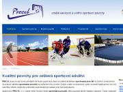 WEBOVÁ STRÁNKA PRECOL s.r.o. Venkovní a vnitřní sportovní povrchy