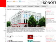 WEBSEITE SONOTEC s.r.o.