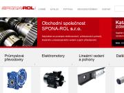WEBOVÁ STRÁNKA SPONA - ROL s.r.o.