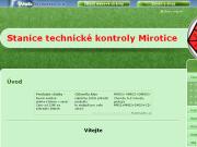 Strona (witryna) internetowa STK Mirotice s.r.o.