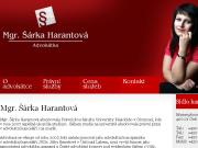SITO WEB Mgr. Sarka Harantova, advokatka