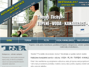 WEBOVÁ STRÁNKA Tomáš Tichý - TOPA