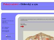 WEBOVÁ STRÁNKA Vlastimil Orlovský - Pokrývačství