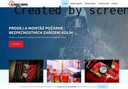 WEBOVÁ STRÁNKA Hasič-Servis Požárně Bezpečnostních Zařízení, s.r.o.