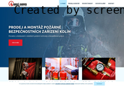 SITO WEB Hasic-Servis Pozarne Bezpecnostnich Zarizeni, s.r.o.