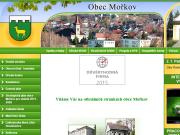 WEBOVÁ STRÁNKA Obec Mořkov