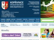 WEBOVÁ STRÁNKA Městský úřad Kopřivnice