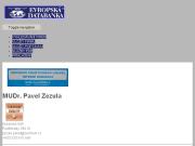 WEBOVÁ STRÁNKA MUDr. Pavel Zezula